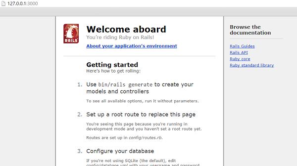 On example code ruby rails Modern Websites
